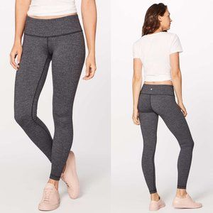 Lululemon Gray Luon Low Rise Wunder Under Tights